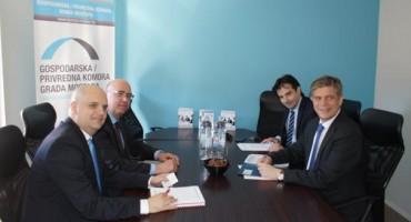 Šef Delegacije EU u BiH i specijalni predstavnik EU, Lars Gunnar Wigemark, posjetio GKM