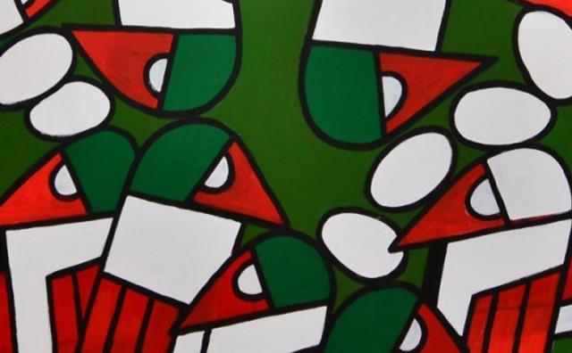 Velika izložba devedesetogodišnjega slikara, u sklopu Mostarskoga proljeća