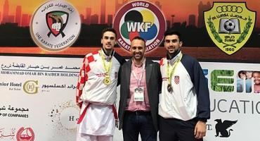 Ponos Hercegovine: Braća Ivan i Anđelo Kvesić na tronu Karate 1 - Svjetske premijer lige u Dubaiu