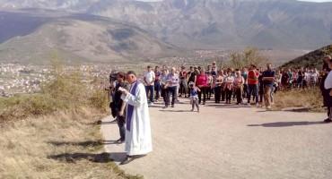 Mostar: Održan križni put na Đubrane