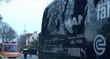 Pročitajte više informacija u vezi tri eksplozije pored autobusa Borussije
