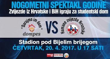 Na utakmici u Mostaru igraju brojni velikani nogometa iz cijele regije