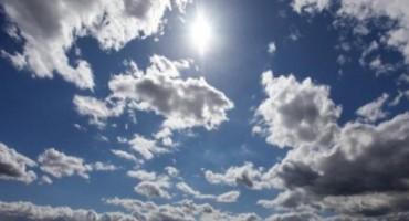 U Bosni i Hercegovini danas sunčano vrijeme uz malu do umjerenu oblačnost