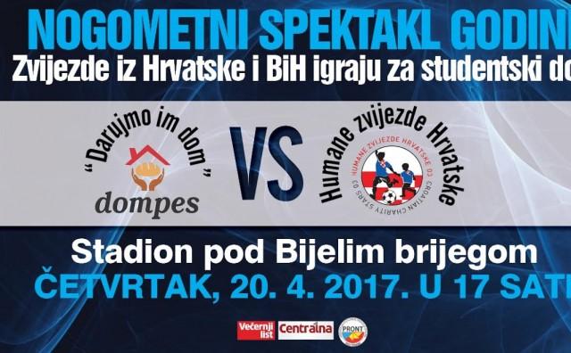 Danas u Mostaru nogometni spektakl godine