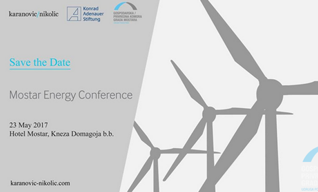 Mostarska energetska konferencija 23. svibnja