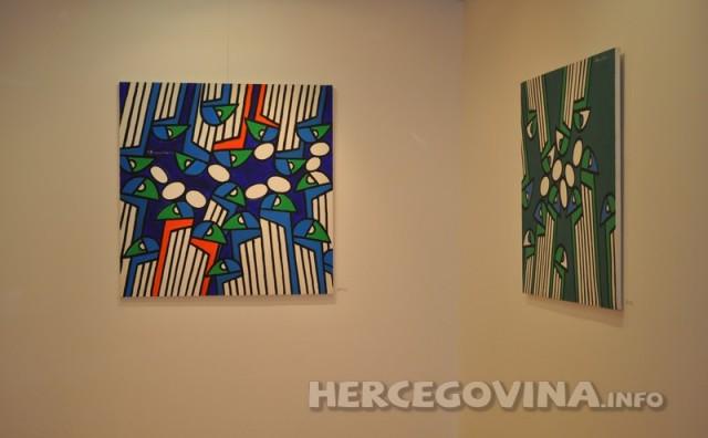 U Galeriji Aluminij otvorena velika izložba Emila Bobanovića Ćolića 'Strast za životom'