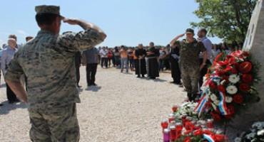 Na Krivodolu obilježena 25. godišnjica pogibije petorice ljubuških branitelja