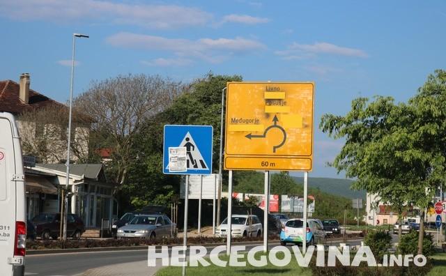Hercegovina bez ćirilice na prometnicama