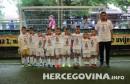 HŠK Zrinjski: Mladi Plemići u majicama sa likom malog anđela Luke