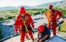 Hrabri HGSS-ovci obnovili napis na Aluminijevu vodotornju, vježbajući na 30 m visine