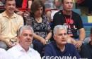 Dragan Čović i Nevenko Herceg na rukometnoj utakmici HMRK Zrinjski-HRK Izviđač