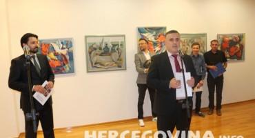 Mostar: Otvorena posthumna izložba Vladimira Vlade Puljića