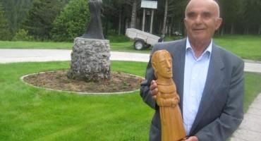 Najava izložbe radova kipara Ljube Mihalja