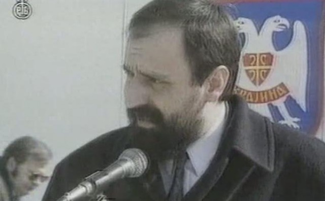 Ratni zločinac Goran Hadžić jedan je od utemeljitelja i osnivača SDSS