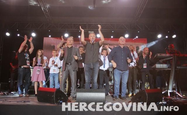 Skup potpore hrvatskim uzncima pratilo preko 100 000 gledatelja na TV ekranima