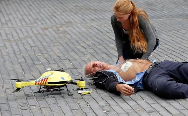 Dronovi defibrilatori spašavaju živote