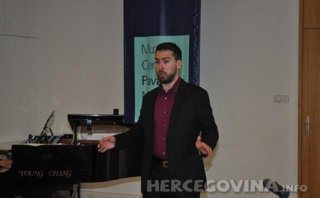 FPMOZ – Studij glazbene umjetnosti: Diplomski koncert baritona Hrvoja Merdže