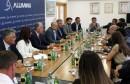 Visoko izaslanstvo Republike Azerbajdžan u službenomu posjetu Aluminiju d.d. Mostar