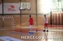 Juniori Crne Gore odradili trening u Mostaru pred sutrašnji susret sa BiH