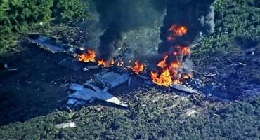 Svih 16 putnika poginulo u padu vojnog zrakoplova