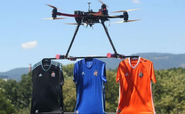 Dinamo dronom predstavio nove dresove