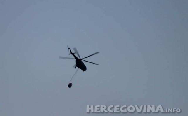 Helikopter od jutros angažiran u Dretelju na području Čapljine