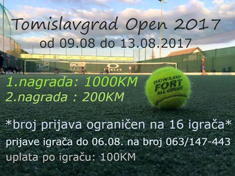 Tomislavgrad Open 2017.