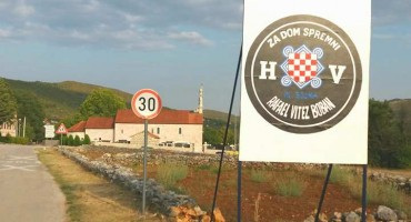 Slivno: Murali u čast Hrvatske vojske