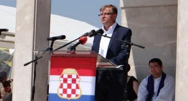 Groblje mira na Bilima - Obilježena 72. obljetnica velikog stradanja hrvatskog naroda