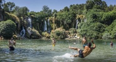 Vodopad Kravica je turistički hit