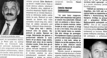 Sarajevski atentat - smrt Federacije