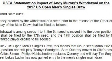 Andy Murray otkazao nastup na US Openu!
