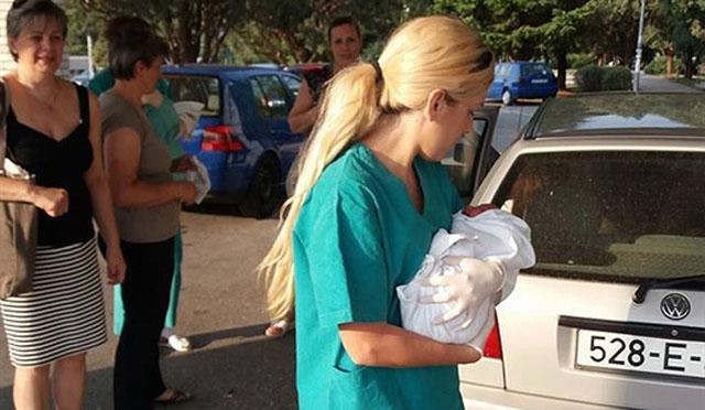 Žena se porodila na ulazu u SKB Mostar