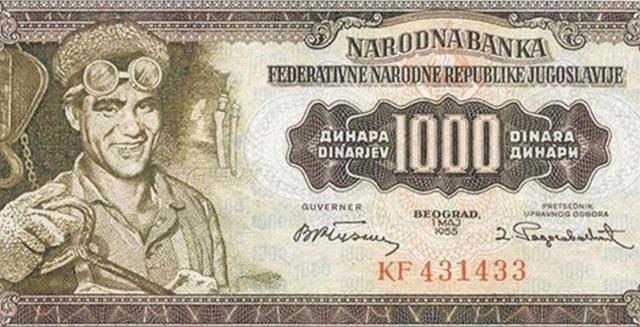 Sjećate li se ove novčanice? Lik radnika iz Zenice Arifa Heralića među elitom