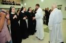 Mostar: Tri sestre Dajana, Anica i Katica obukle redovničko odijelo i položile svoje prve zavjete