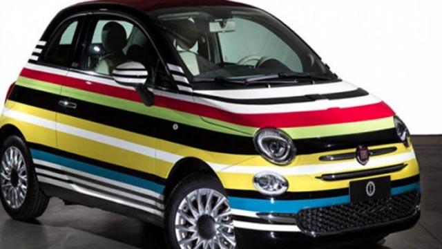Fiat 500C Missoni edition prodan za 50.000 eura