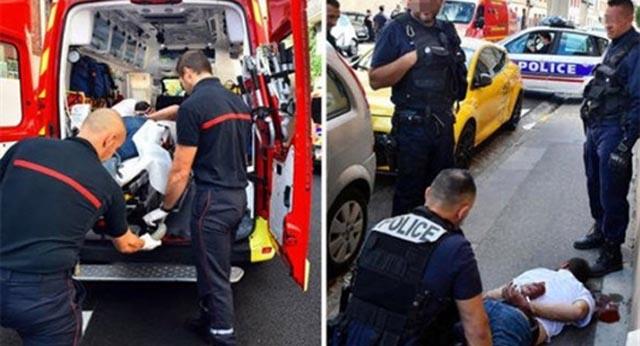 Uz povike 'Alah je velik' napao prolaznike i ozlijedio trojicu policajaca
