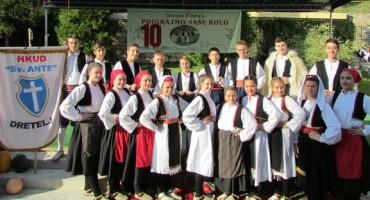 Održana 10.tradicionalna smotra folklora Poigrajmo naše kolo