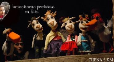 Mostar: Predstava Vuk i kozlići za malenu Anu Ritu