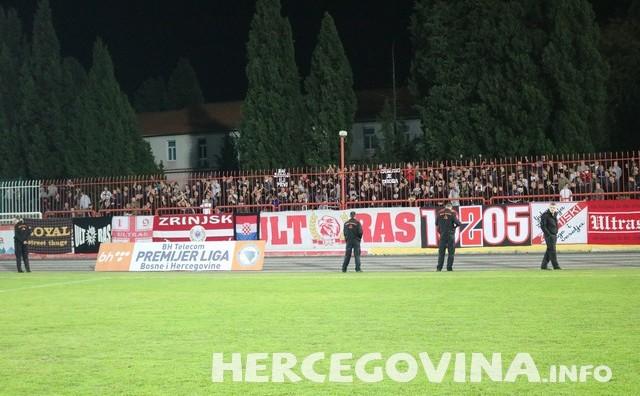 HŠK Zrinjski: Pogledajte kako su Ultrasi ispratili Plemiće nakon poraza protiv Sarajeva