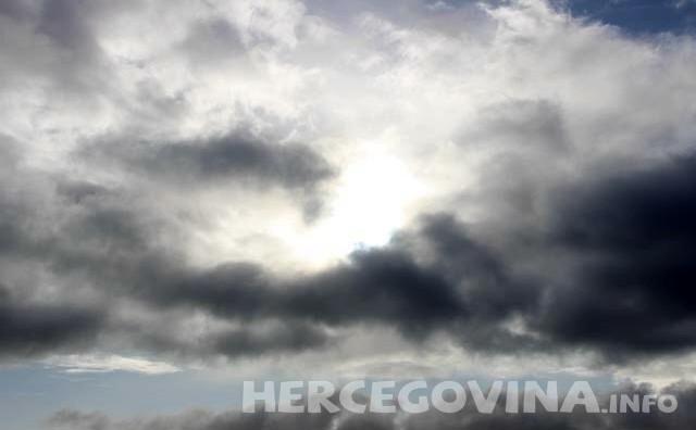 Danas oblačno, dnevne temperature između 12 i 18 stupnjeva