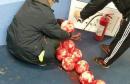 Odgođen derbi u Sarajevu: Domaćin lakirao nogometnu loptu