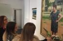 Učenici Internacionalne Privatne Gimnazije Mostar na izložbi Marina Topića