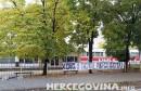 Mostar: Parola u centru grada upućena vrhu HNS-a