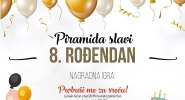 Mostar: Piramida shopping centar proslavlja svoj 8. rođendan