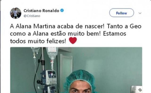 Cristiano Ronaldo postao otac četvrti put