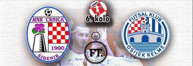 MNK Crnica bolja od MNK Osijeka Kelme