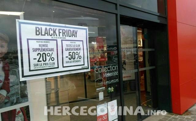 Black Friday ili Crni Petak u BiH i na zapadu