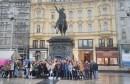 Učenici Srednje građevinske škole Jurja Dalmatinca Mostar u posjetu Pantovčaku i vili Prekrižje