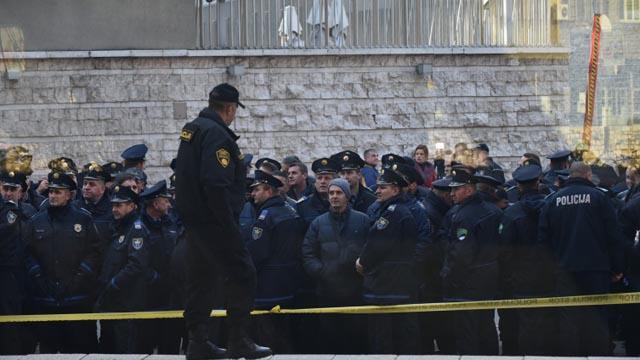 Prosvjed policajaca u ponedjeljak?